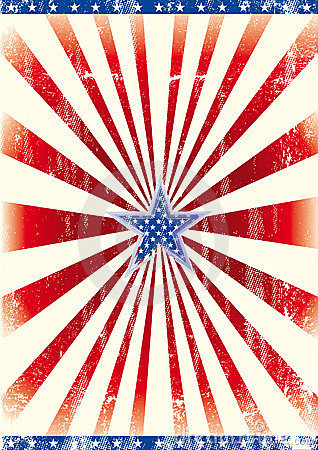 Patriotic Star Background Royalty Free Stock Photo - Image: 23625145