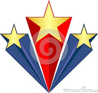Patriotic Stars/ai