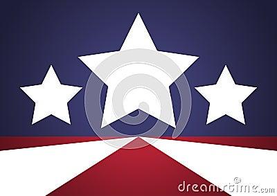 Patriotic Stars Background