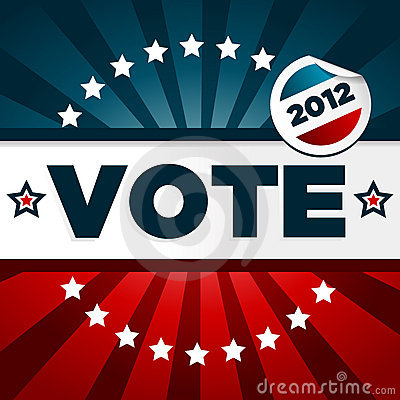 Patriotic Voting Poster