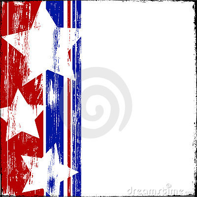 Free Patriotic Wood Royalty Free Stock Photo - 9736735