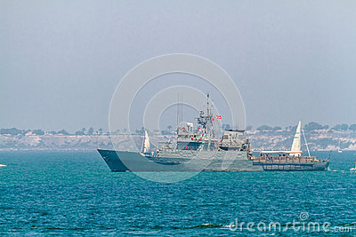 Patrol boat P-73 Vigia Editorial Photo