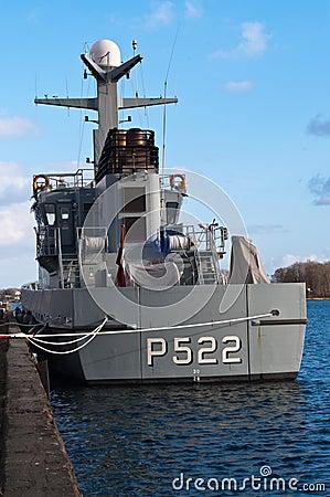 Patrol vessel Editorial Stock Photo