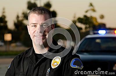 Patrolowy policjant