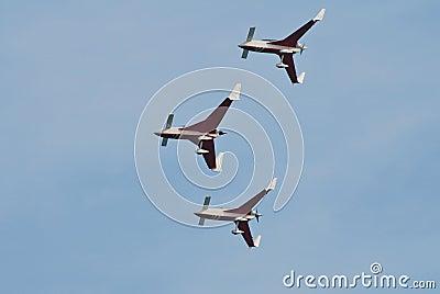 Patrouille Reva aerobatic team Editorial Stock Photo