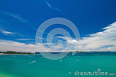 Pattaya , Balihy foreland andLan Island