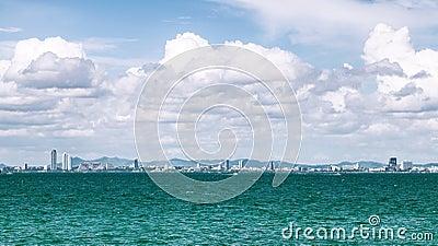 Pattaya city scape thailand