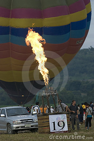 Pattaya International Balloon Fiesta Editorial Photo