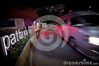 Pattaya in Love Editorial Photo