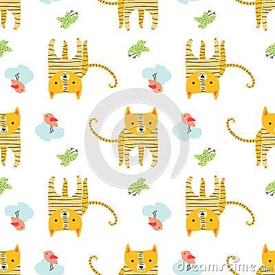 Pattern animal Vector Illustration