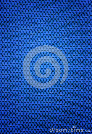 Pattern of blue jersey