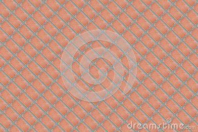 Pattern brick wall background stone abstract brown diagonal background row of rectangles lots of endless row base urban Stock Photo
