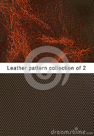Pattern  brown leather pattern