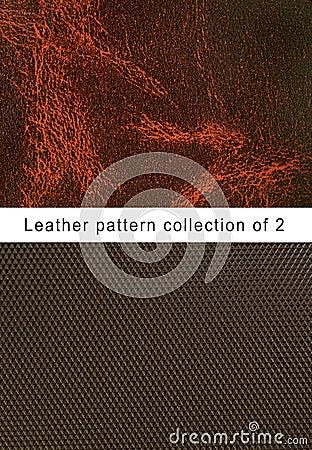 Pattern  brown leather pattern