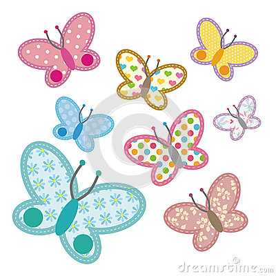 Free Pattern Butterfly Stock Image - 25033841