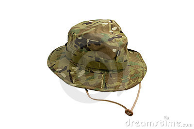 Pattern camouflage cap