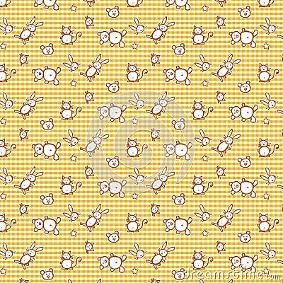 Pattern- checks and animals