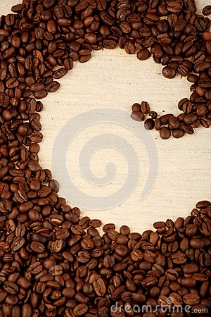 Pattern of coffee
