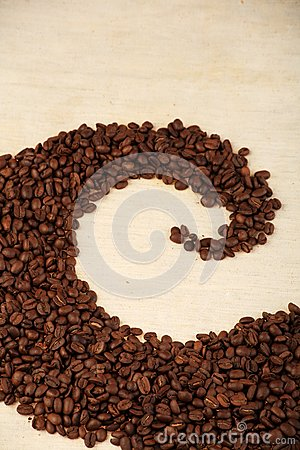 Pattern of coffee