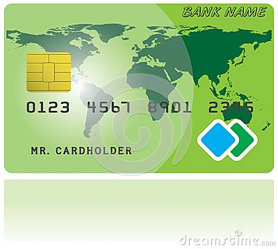 Pattern of credit card