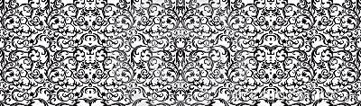 Pattern damask style