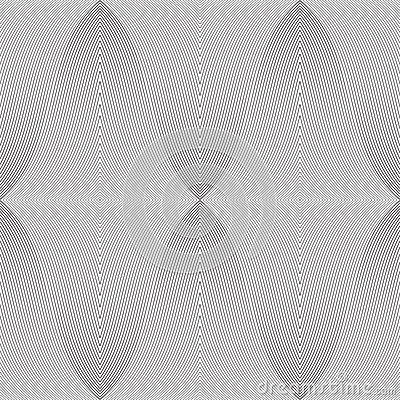 Pattern - distorted line