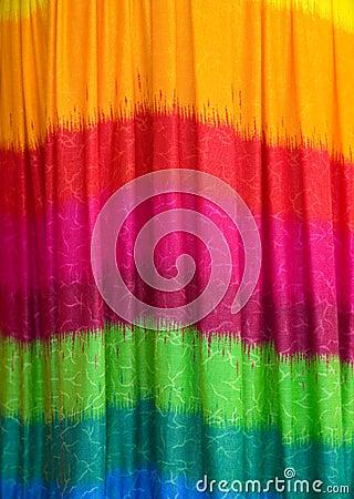 Pattern of fabric