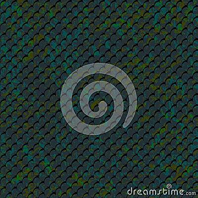 Pattern-fish-mosaic Vector Illustration