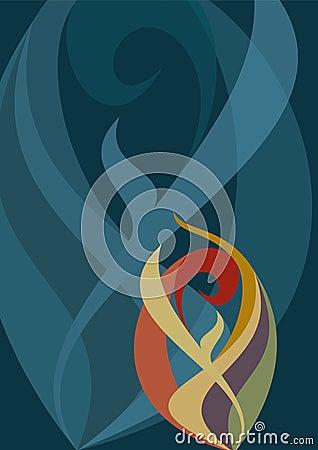 Free Pattern Flame Royalty Free Stock Photo - 12032225