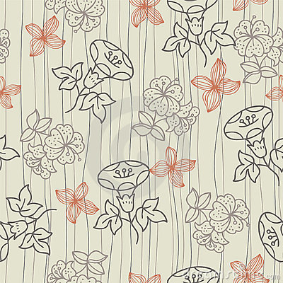Pattern flower seamless