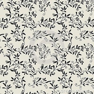 Pattern flower seamless