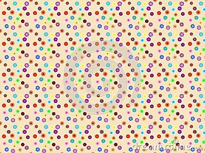 Pattern flowers