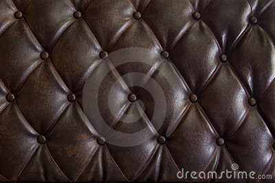 Pattern of genuine leather upholstery