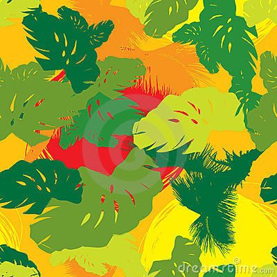 Pattern from the leaves of tropical trees