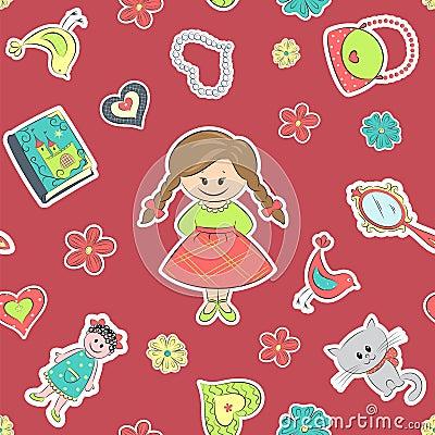 Pattern for little girls