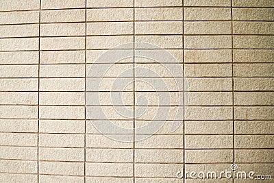 Pattern of old brick wall