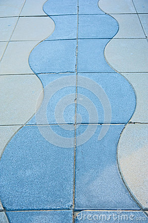 Pattern in a pavement