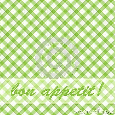Pattern picnic green.