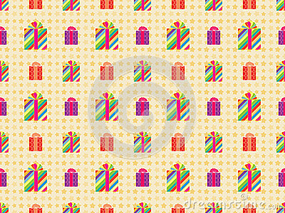 Pattern with presents