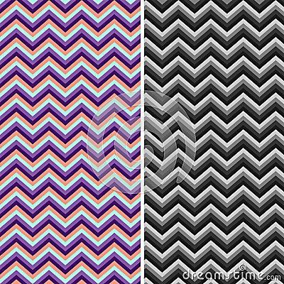 Free Pattern Retro Zig Zag Chevron Vector Stock Image - 27542161