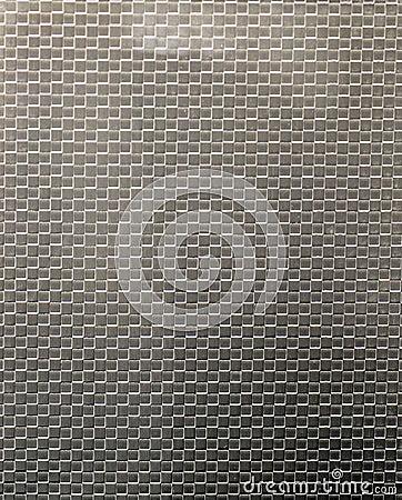 Pattern on the sheet steel