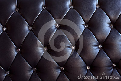 Pattern and surface of sofa leather with crystal b