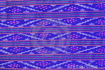 Pattern on thai cloth