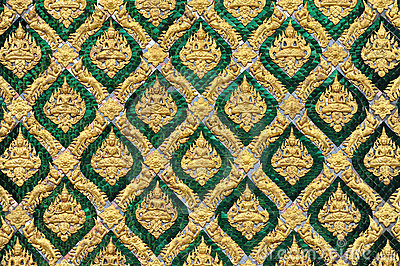 Pattern of traditional Thai art