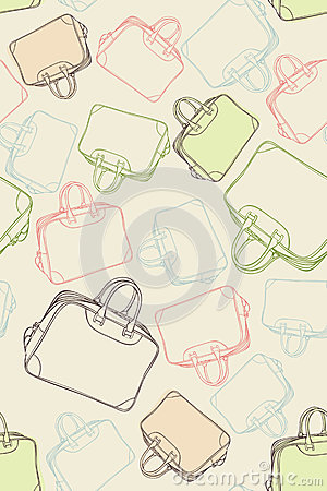 Pattern travel bags
