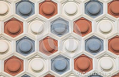 pattern wall of brick