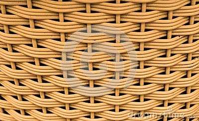 Pattern of weave basket