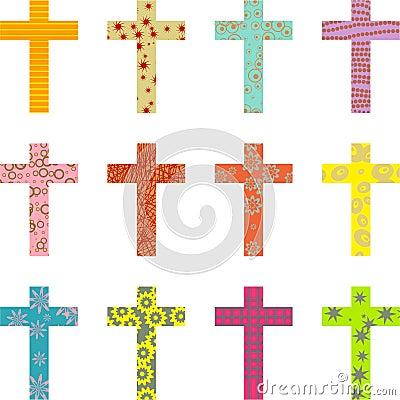 Patterned cross