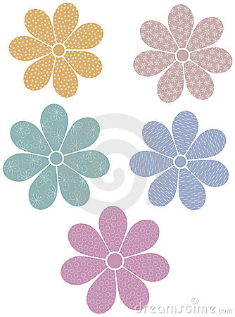 Patterned flowers