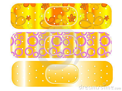 Patterned plasters